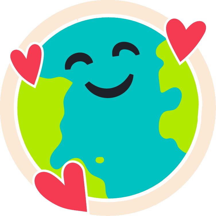 CSR graphics eco illustration recycle.eco illustration earth